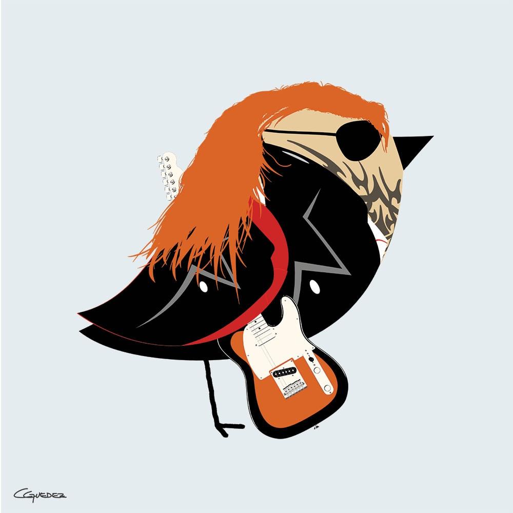 Blaze Bird Nft Art