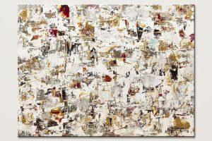 Blaze Of Glory Minimalist Abstract Painting Id80