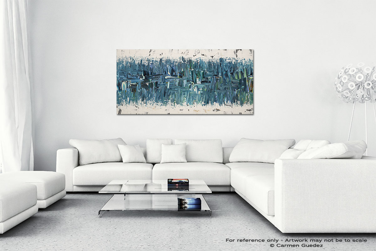 Blue Nile Wall Art Canvas Painting Id40