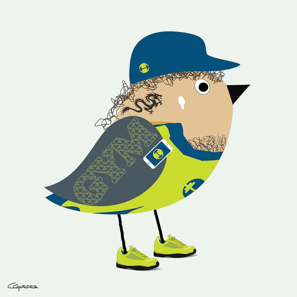 Brian Bird Nft Art
