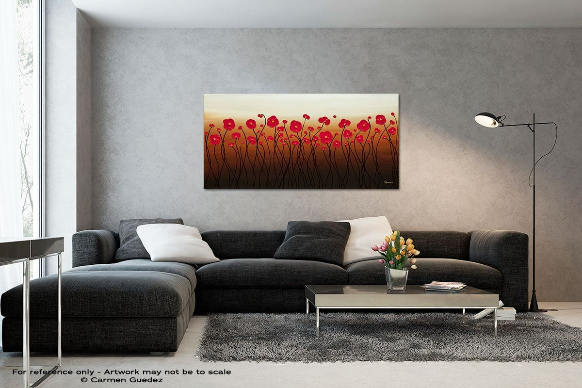 Calm Waters Black And White Wall Abstract Art Painting Id70