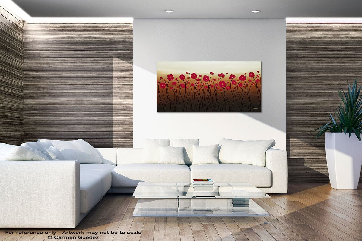 Calm Waters Large Abstract Art Id36