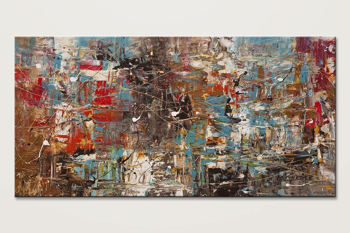 Oversized Large Abstract Art Painting - Can't Stop