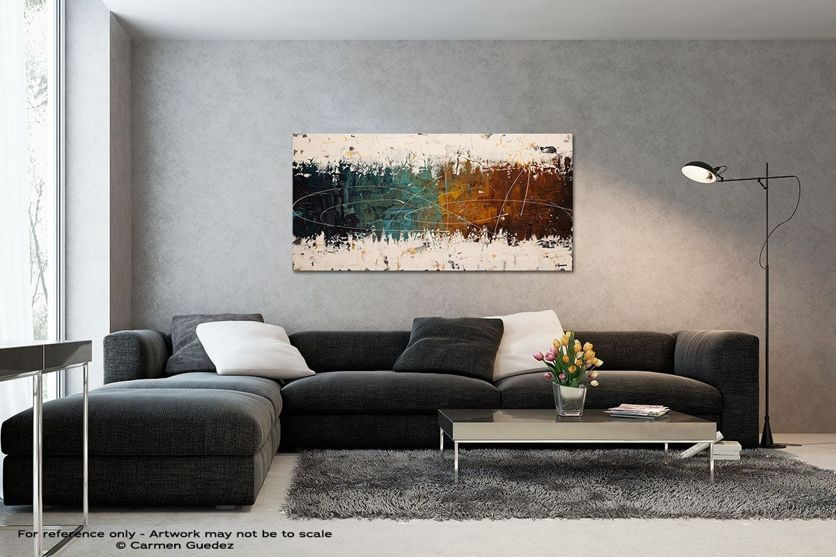 Catch Me If You Can Black And White Wall Abstract Art Painting Id70
