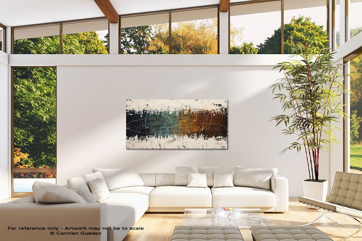 Catch Me If You Can Modern Canvas Abstract Art Id38