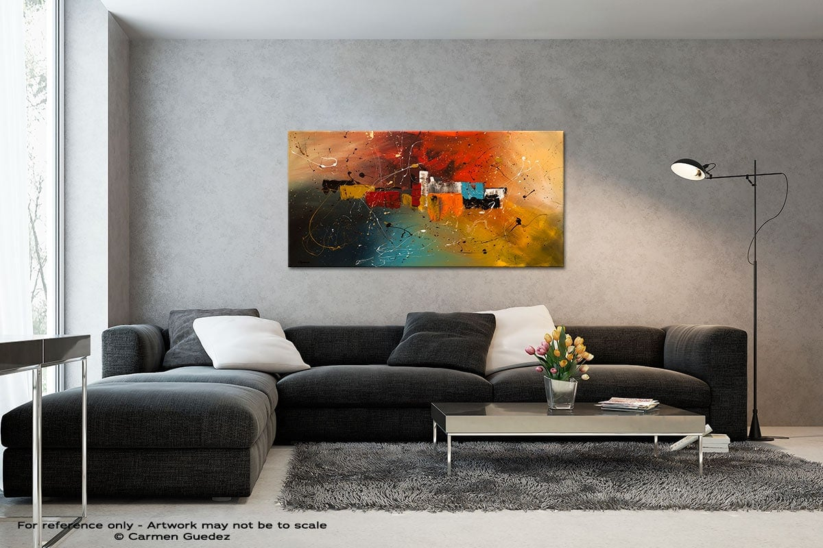 Celebration Black And White Wall Abstract Art Painting Id70