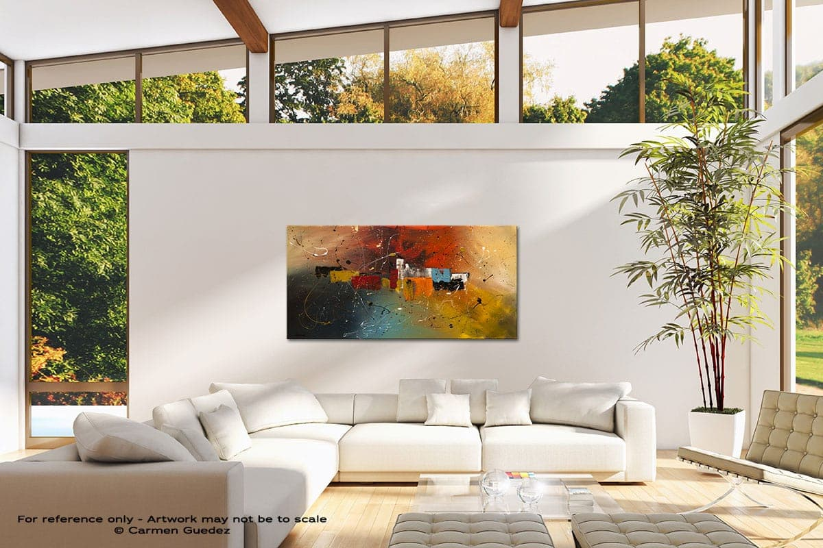 Celebration Modern Canvas Abstract Art Id38