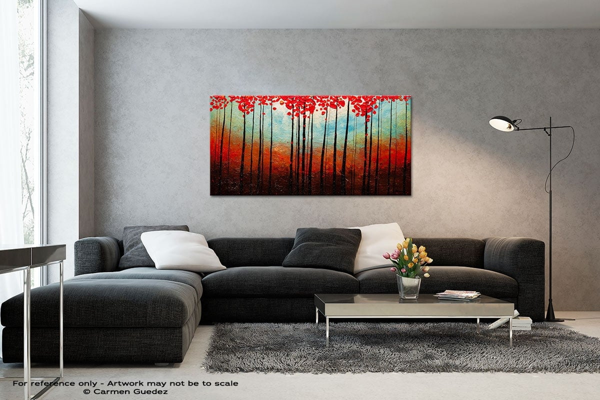 Change Of Seasons Black And White Wall Abstract Art Painting Id70