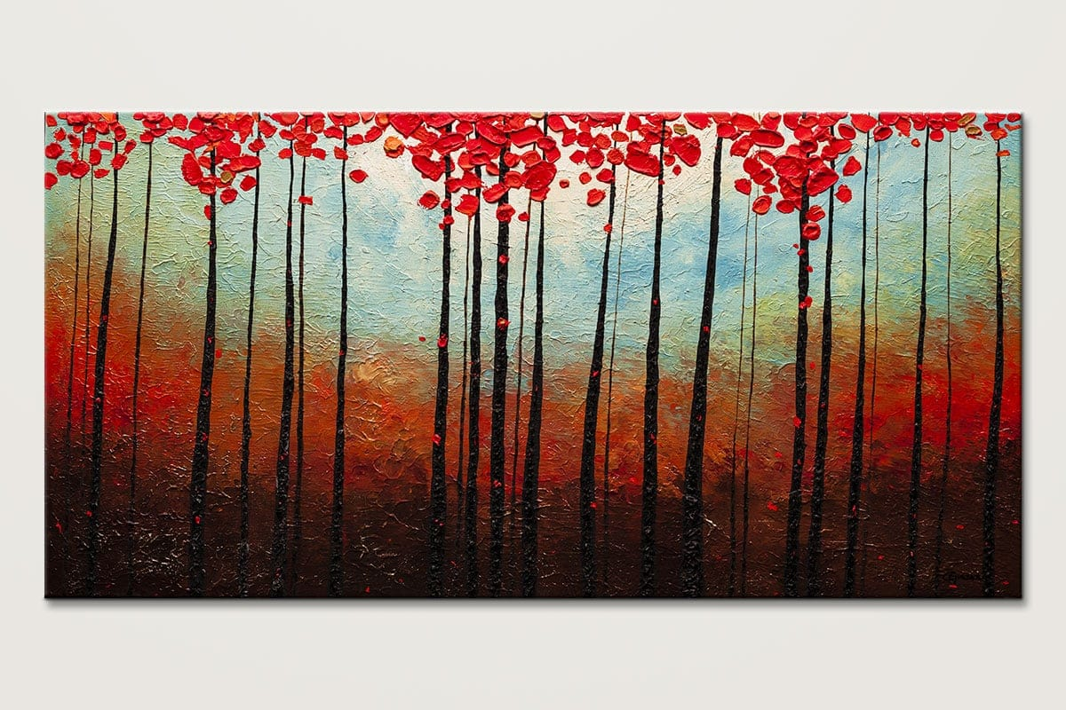 Abstract Art Paintings Gallery - Change of Seasons - Abstract ...