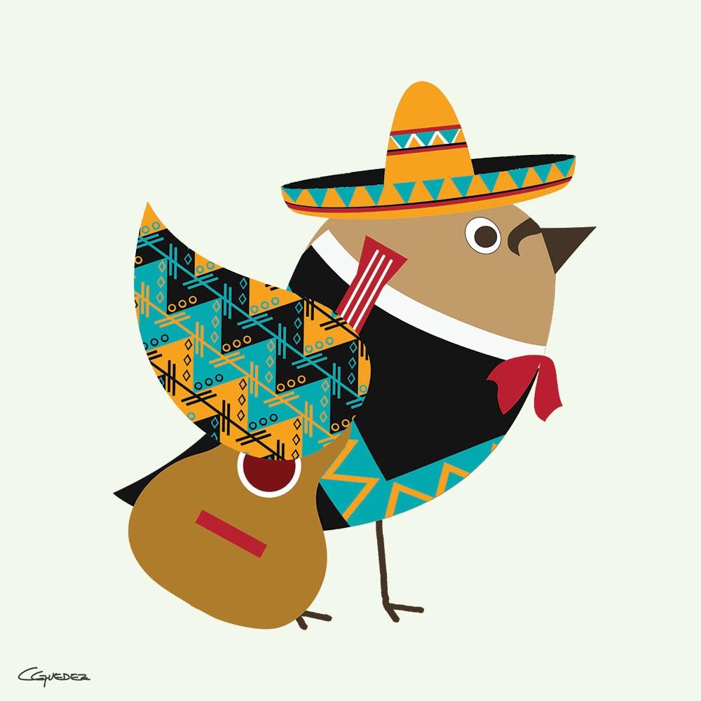 Charro Bird Nft Art