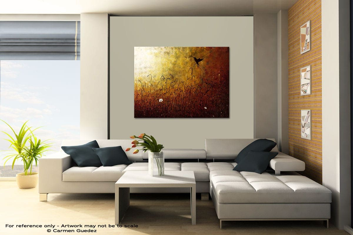Chasing The Light Contemporary Abstract Art Painting Id48