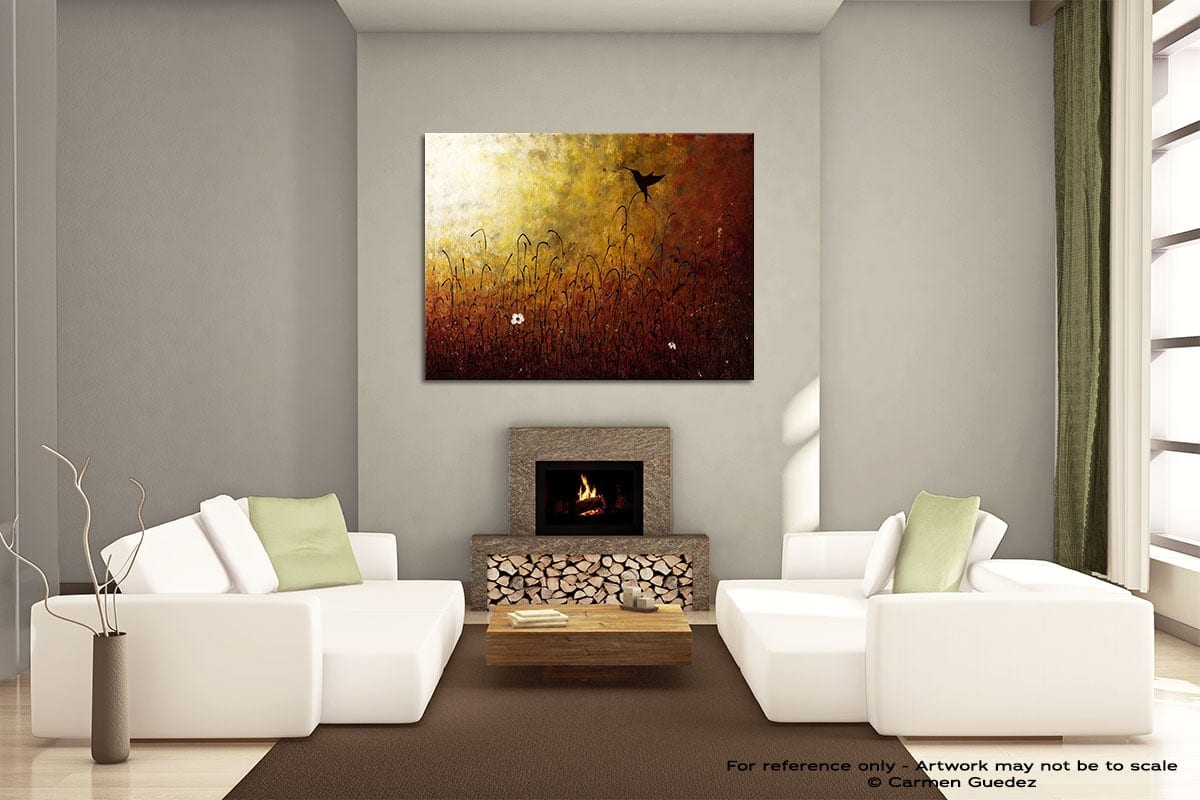 Chasing The Light Painting On Canvas Large Living Room Id52