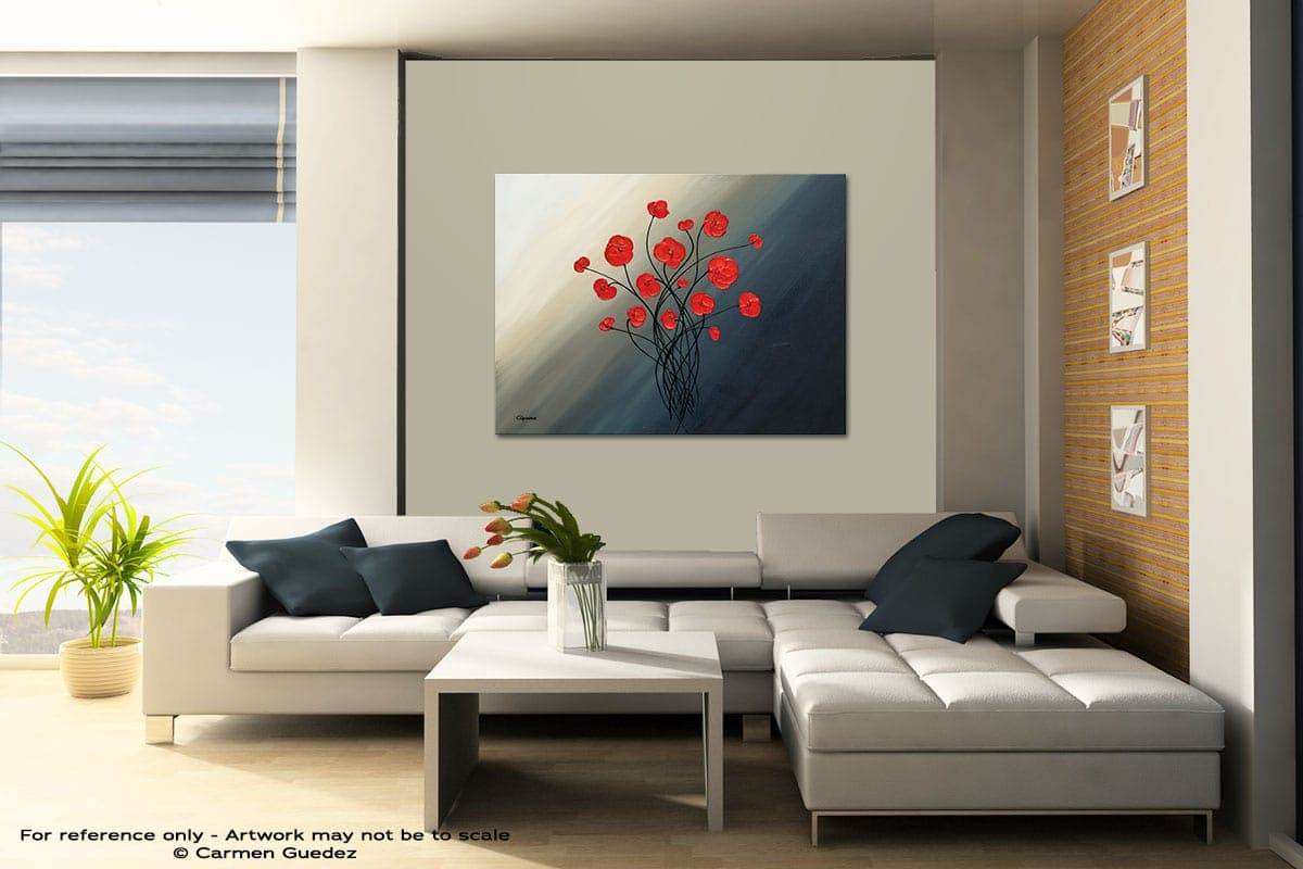 Clair De Lune Contemporary Abstract Art Painting Id48