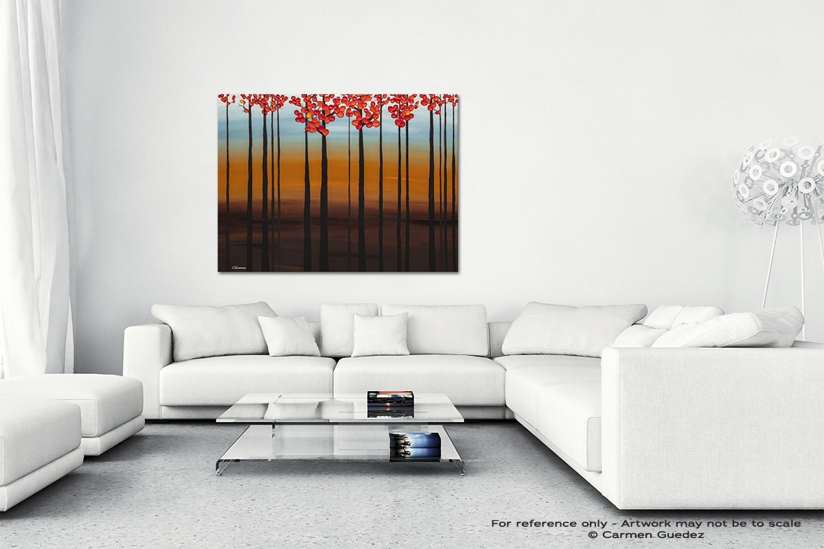 Clear Skies Canvas Art Abstract Painting Id47