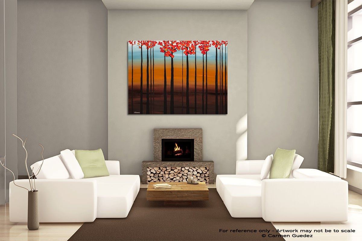 Clear Skies Painting On Canvas Large Living Room Id52
