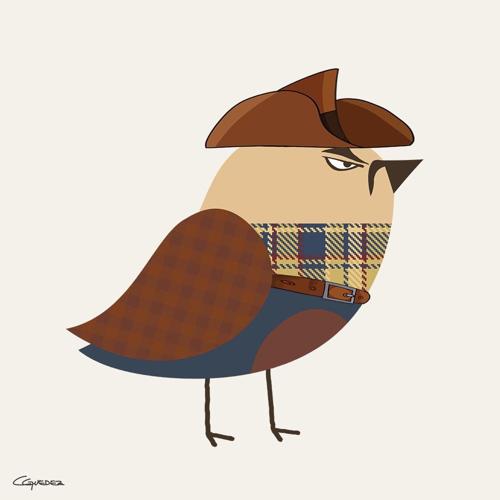Clint Bird Nft Art