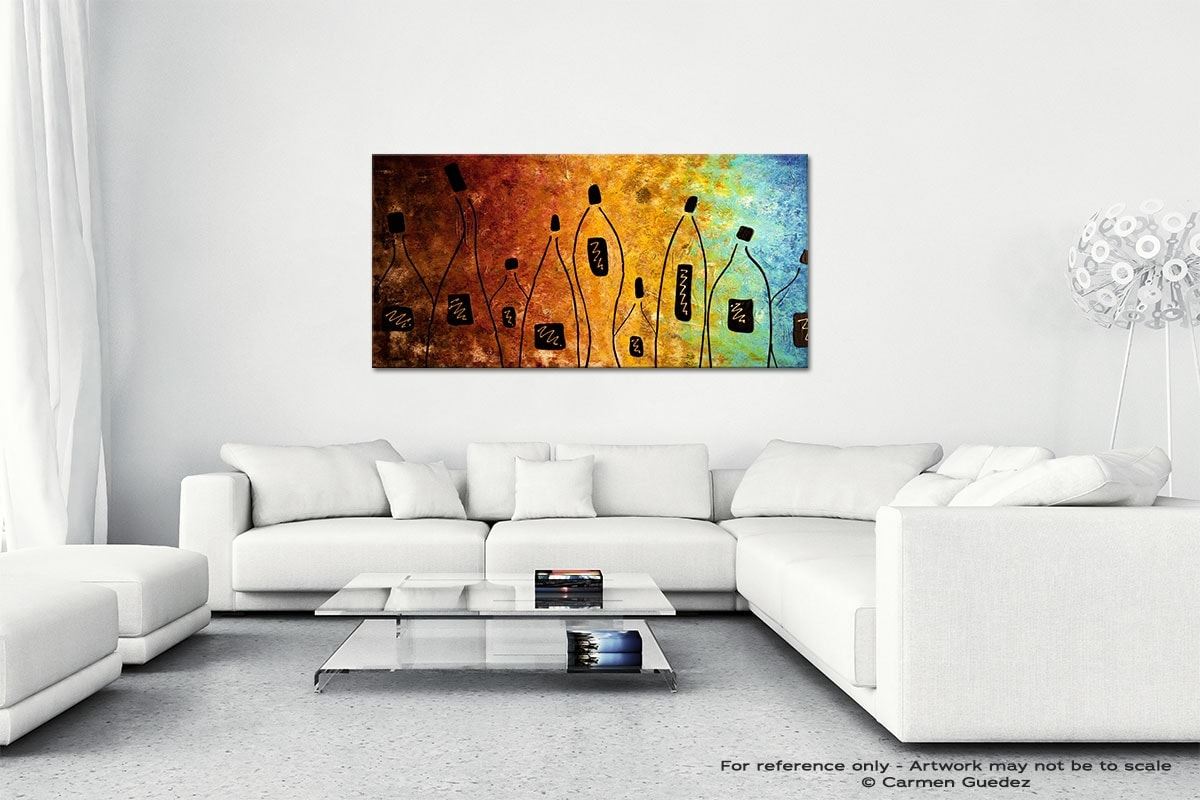 Cocktail Bar Wall Art Canvas Painting Id40