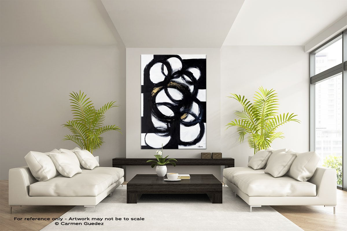 Collective Minds Abstract Painting Modern Home Id17