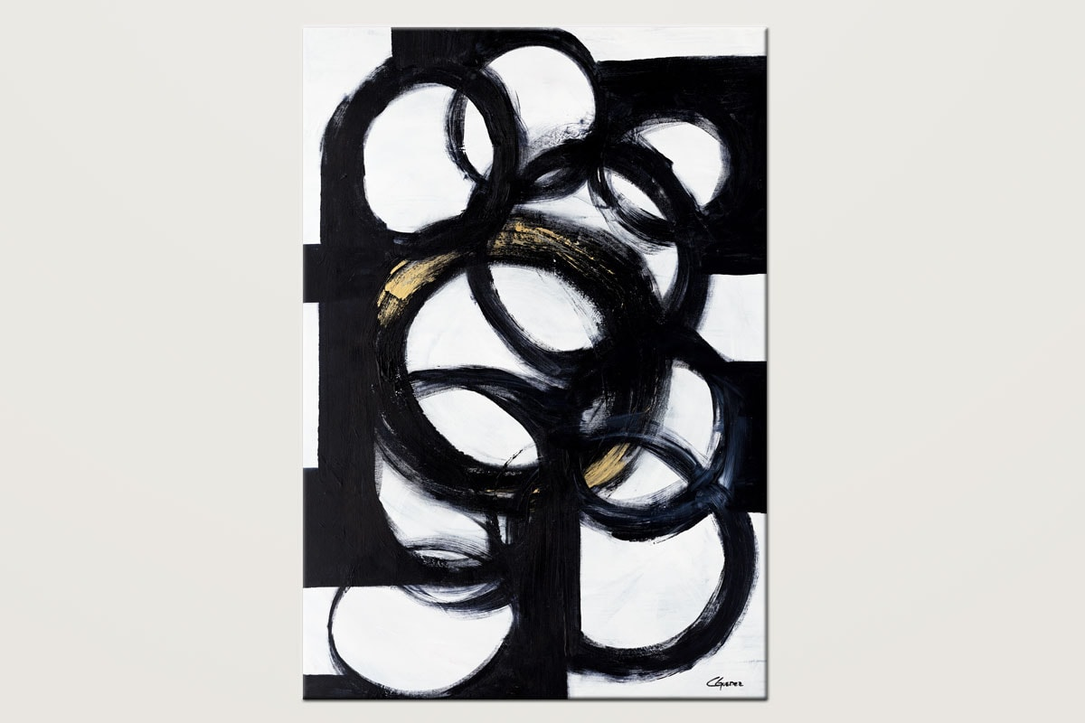 Collective Minds Minimalist Large Abstract Art