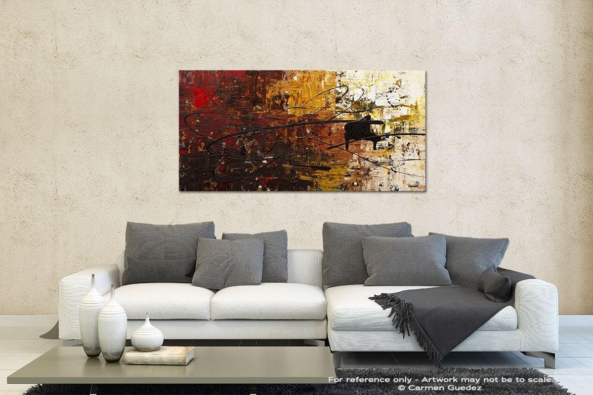 Con Fuoco Contemporary Abstract Art Id35