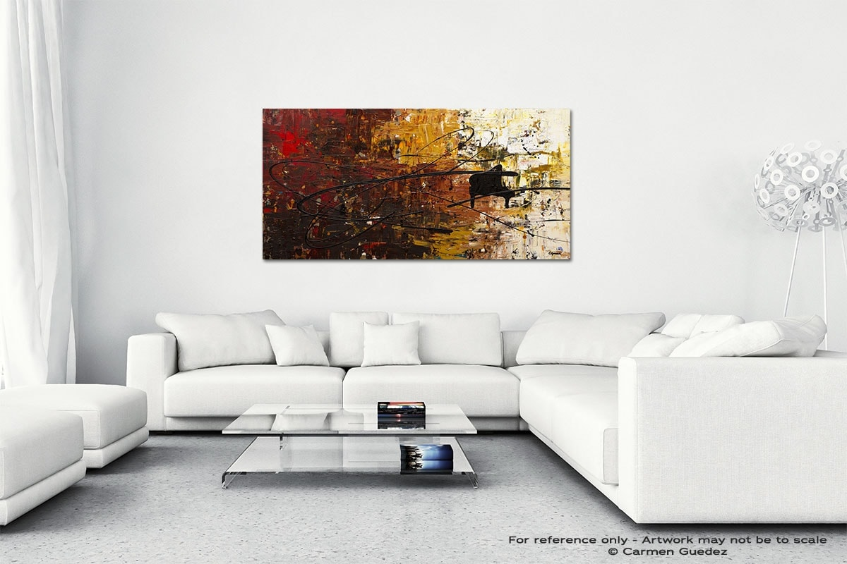Con Fuoco Wall Art Canvas Painting Id40