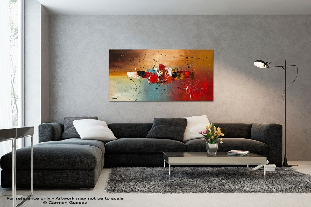 Con Te Partiro Black And White Wall Abstract Art Painting Id70