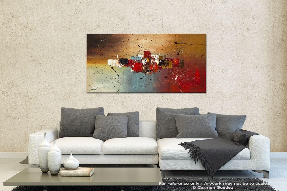 Con Te Partiro Contemporary Abstract Art Id35