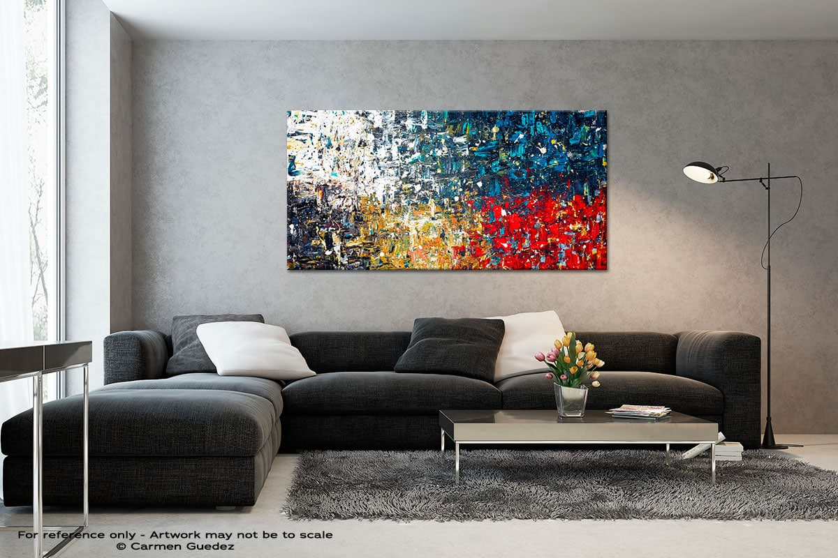 Copacabana3 Black And White Abstract Art Living Room Id2