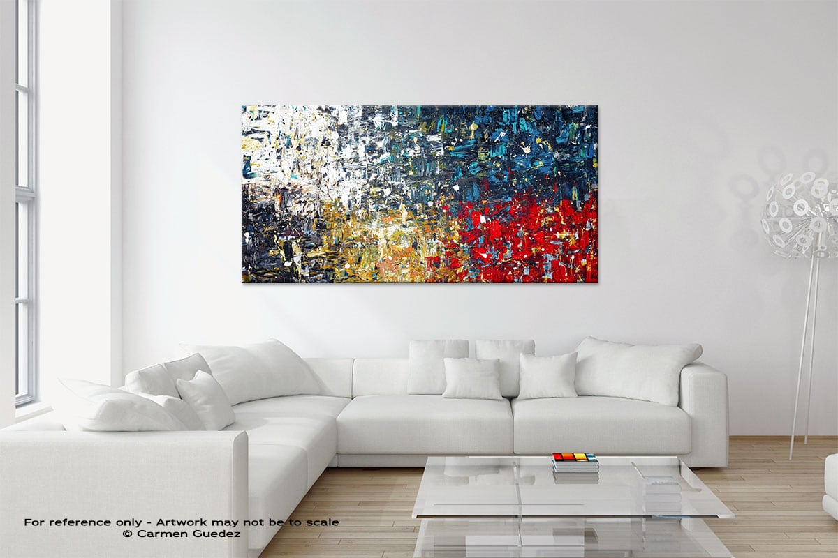 Copacabana3 Modern Neutral Abstract Painting Home Id9
