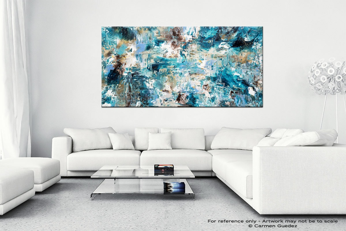 Coral Reef Wall Art Canvas Painting Id40
