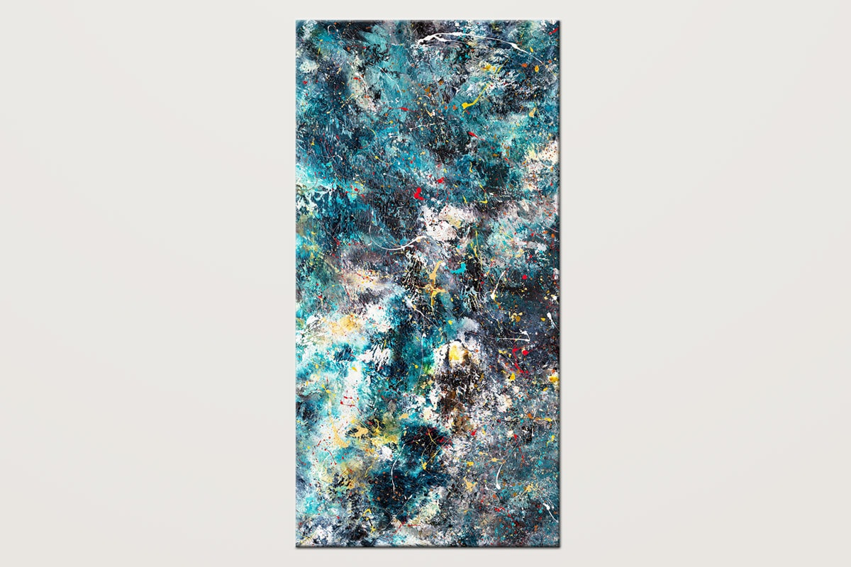 Cosmos Original Wall Art Abstract Painting V2 Id80