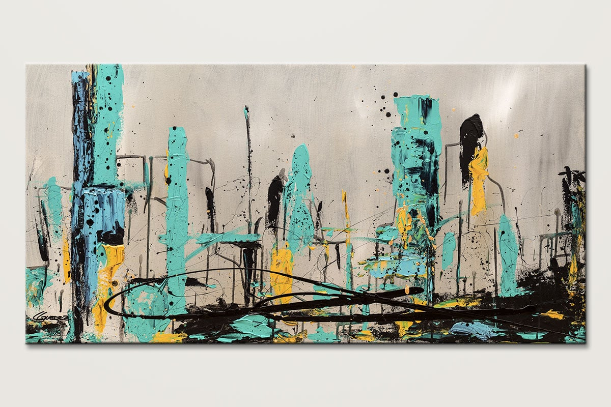 Count Me In Abstract Art Painting Id80