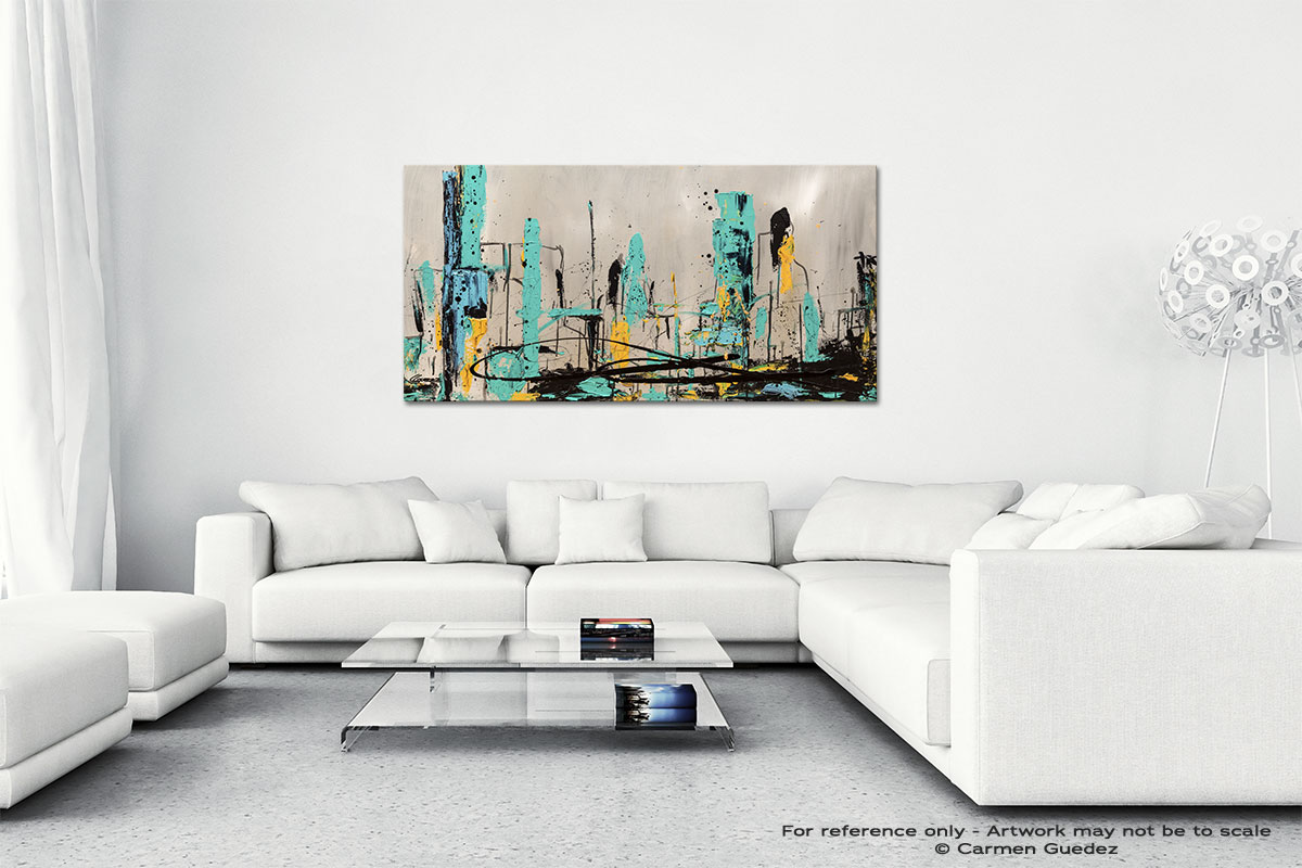 Count Me In Wall Art Canvas Painting Id40