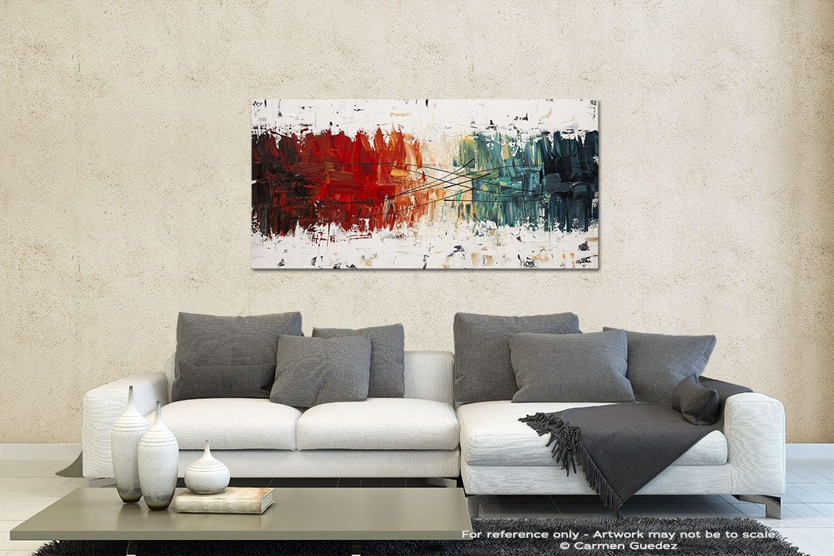 Crystal Clear Contemporary Abstract Art Id35