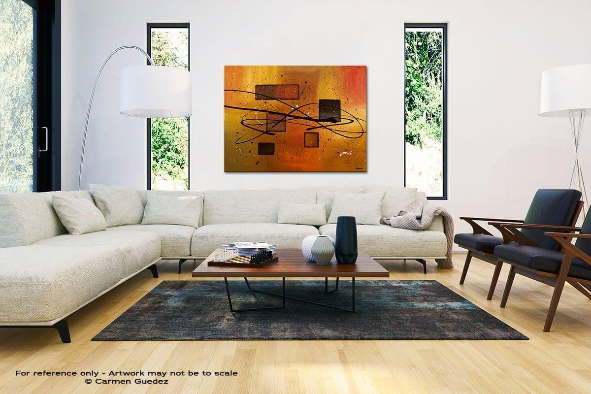 Deco Contemporaine Black And White Interior Decor Abstract Art Id46