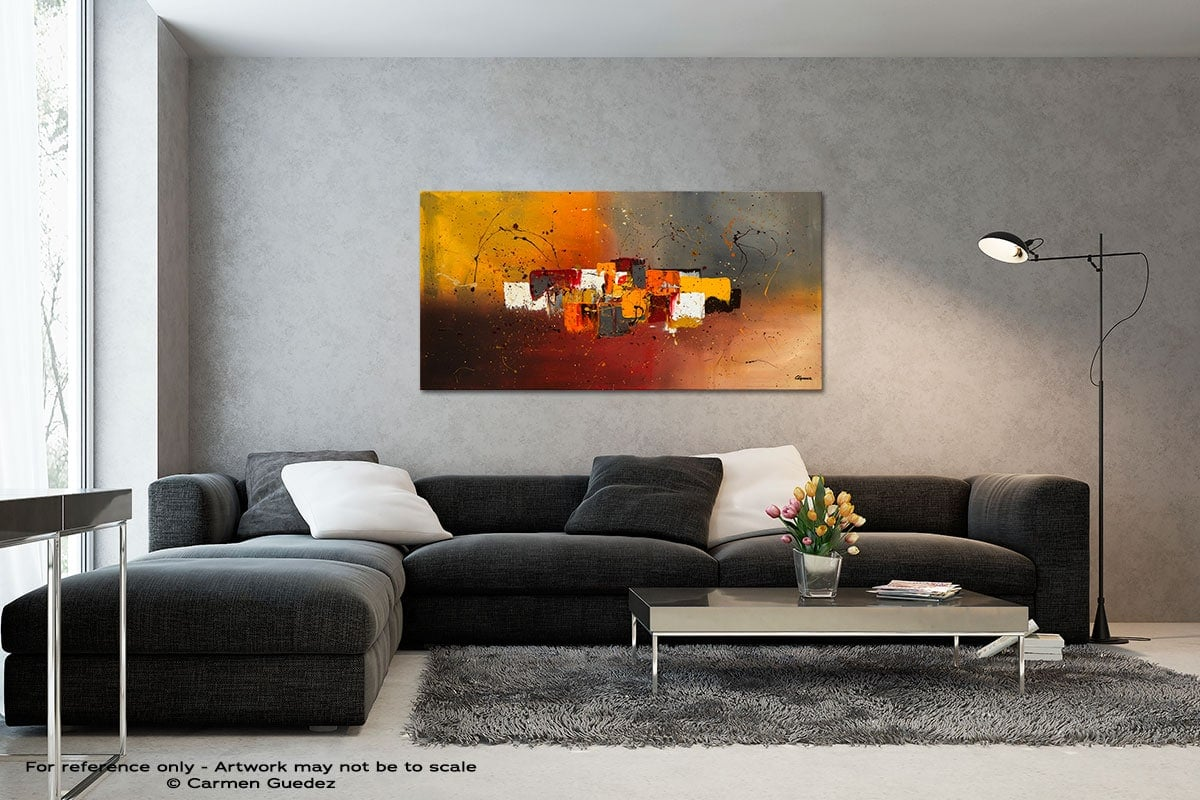Decora Black And White Wall Abstract Art Painting Id70
