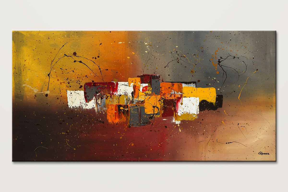 Decora - Abstract Art Painting Image by Carmen Guedez