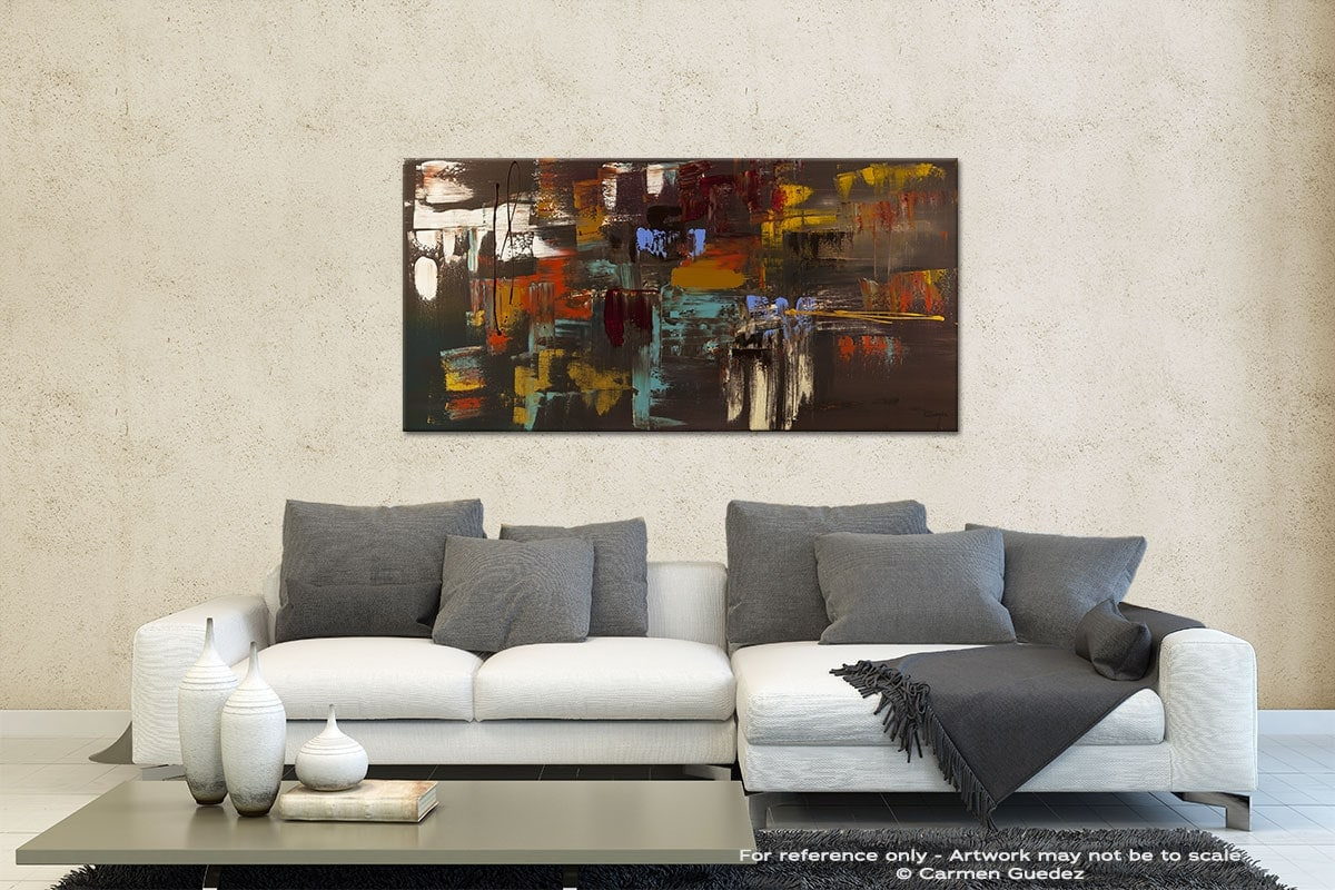 Deja Vu Contemporary Abstract Art Id35