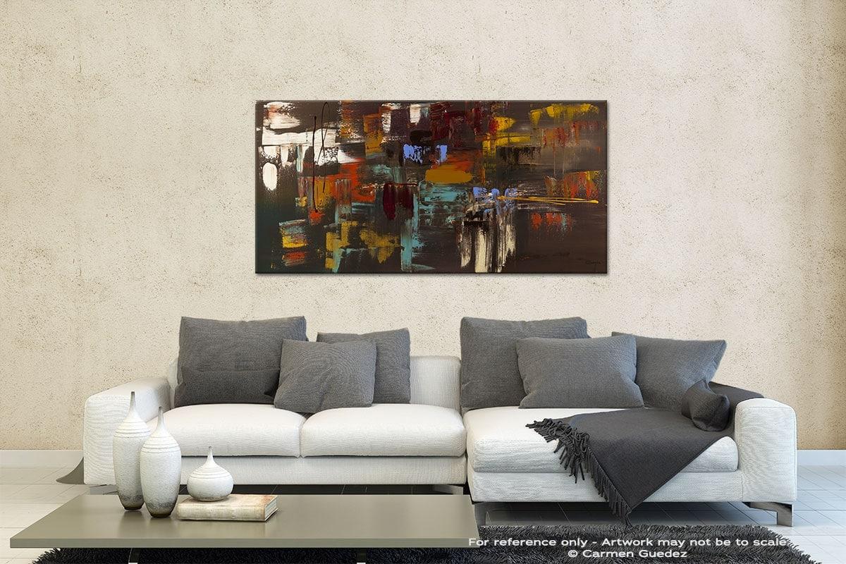 Deja Vu Contemporary Abstract Art Id35