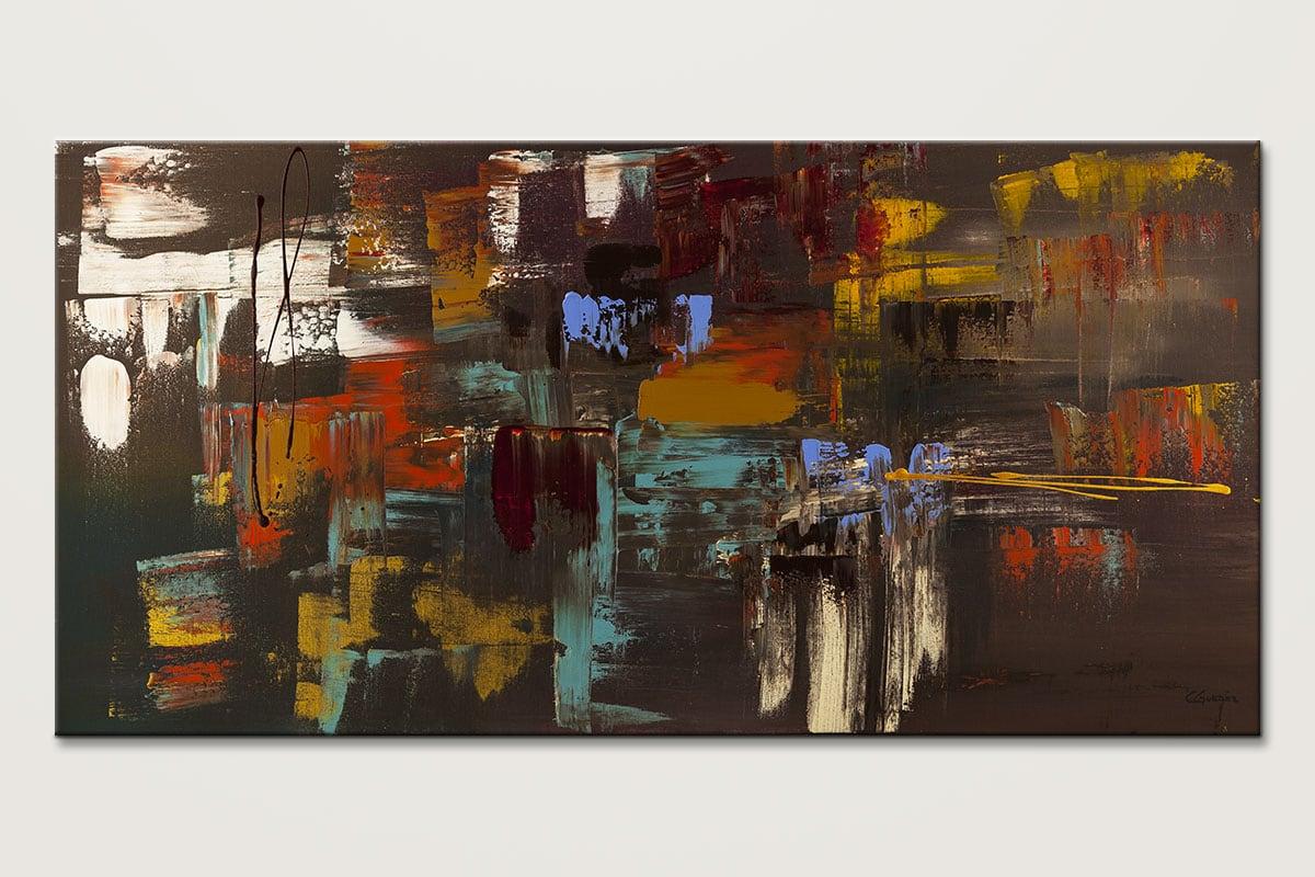 Deja Vu Modern Original Abstract Art Painting Id80