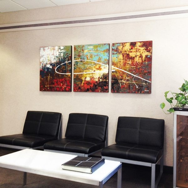Dentist Office Carmen Guedez Abstract Painting