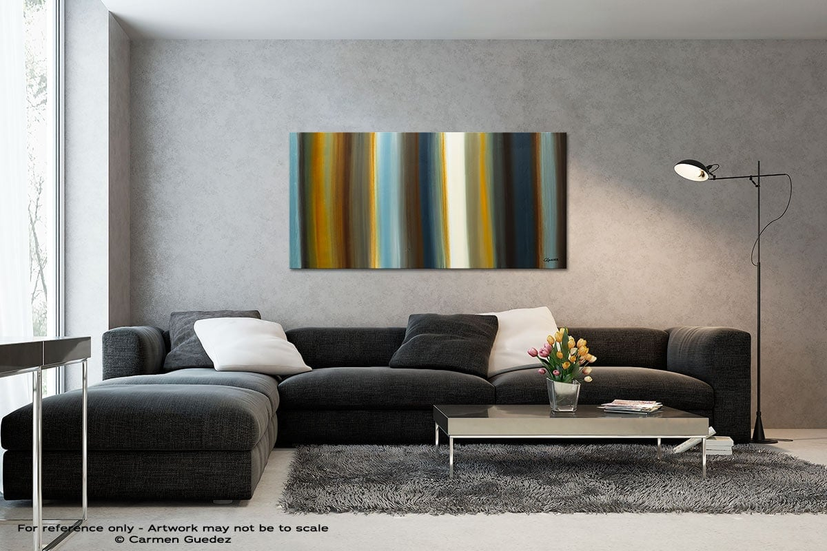 Destinos Black And White Wall Abstract Art Painting Id70