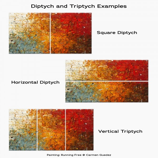 Diptych Triptych Painting Examples