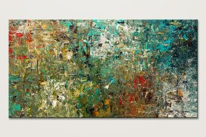Discovery Huge Large Abstract Art Painting Id80