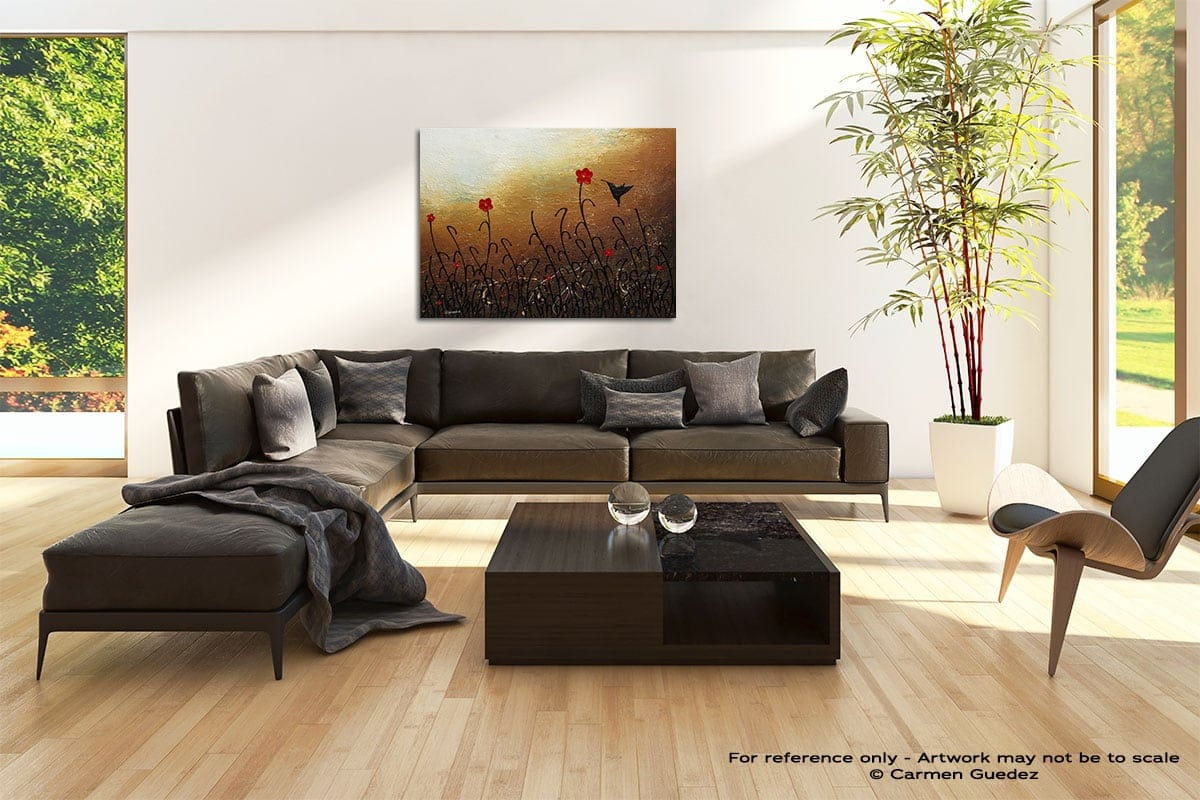Docile Abstract Painting Modern Home Id69