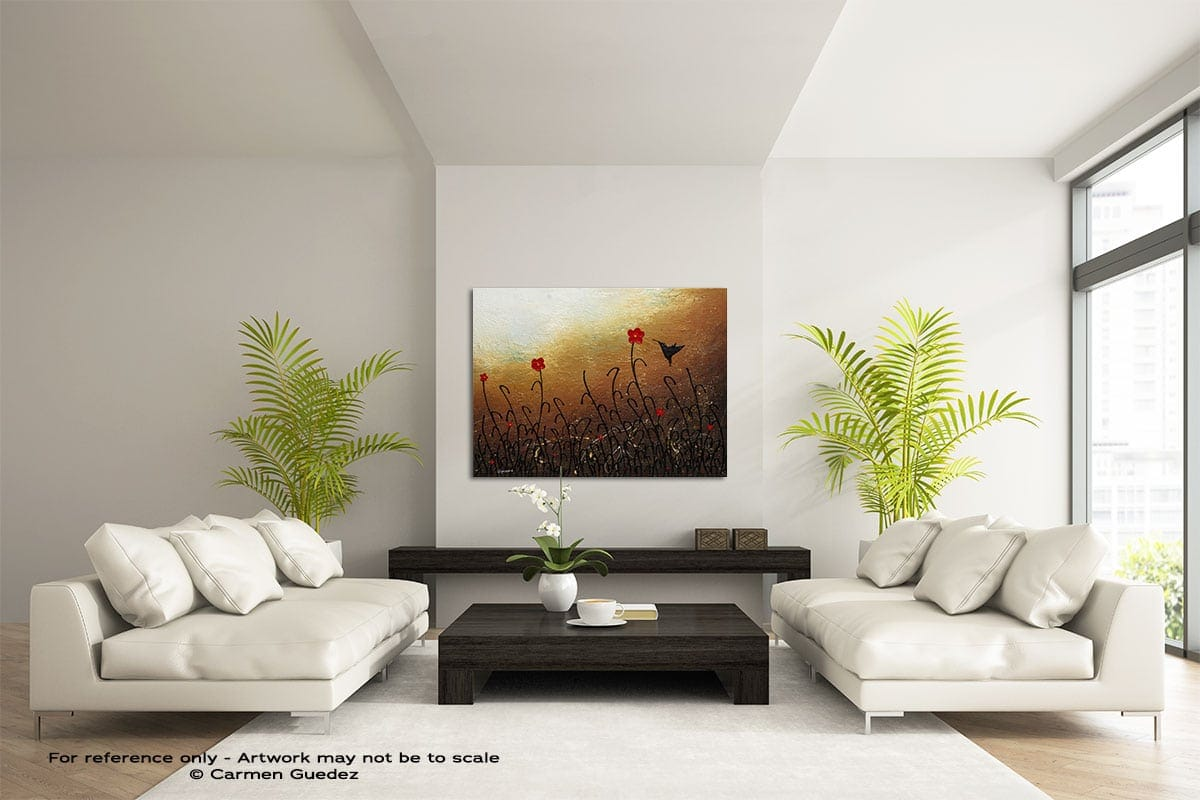 Docile Large Modern Abstract Art Painting Id49