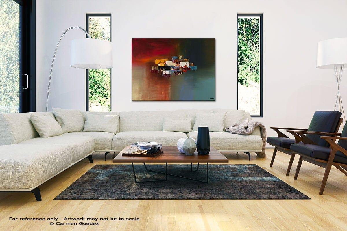 Dream Black And White Interior Decor Abstract Art Id46