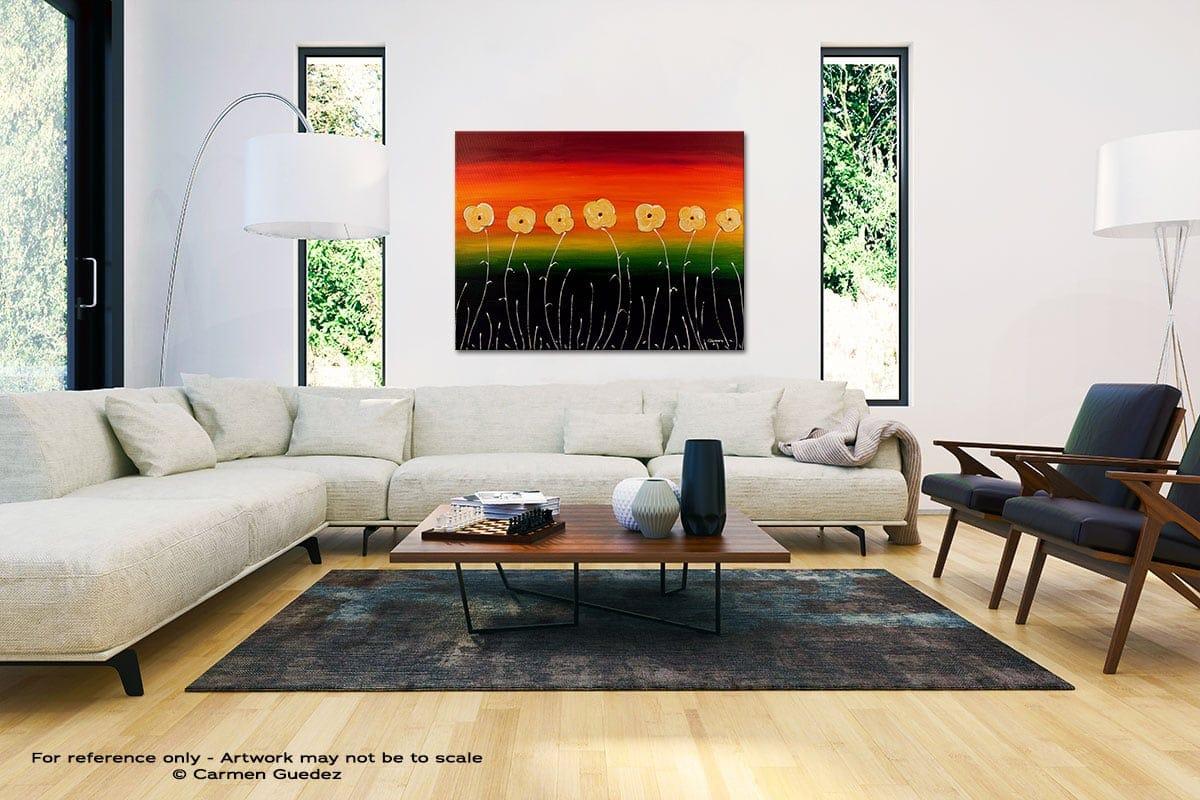 Dreams Come True Black And White Interior Decor Abstract Art Id46