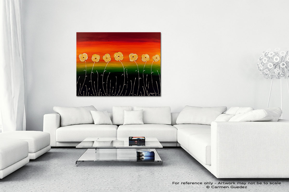 Dreams Come True Canvas Art Abstract Painting Id47