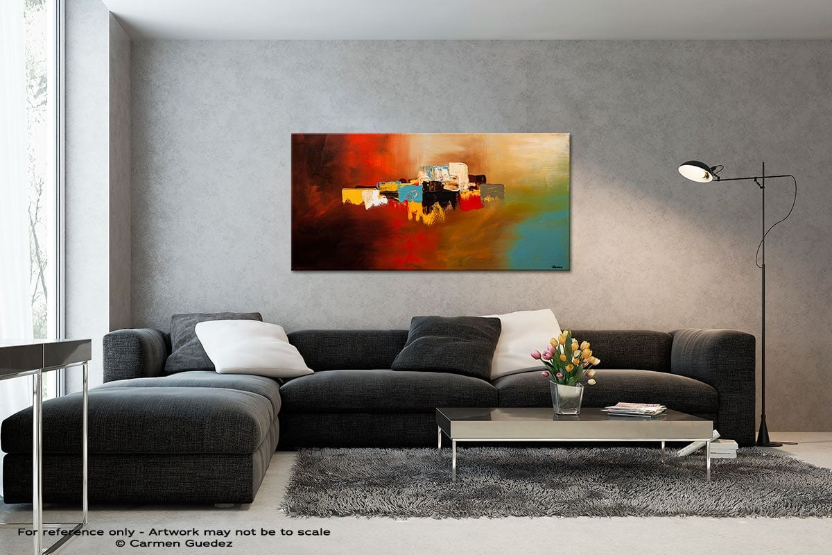 Du Soleil Black And White Wall Abstract Art Painting Id70
